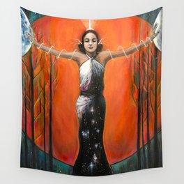 Strength - Tarot Card Art Wall Tapestry