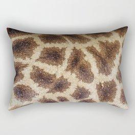 Giraffe Animal Skin Print Rectangular Pillow