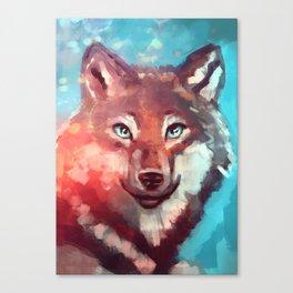 Wolf - Stare - Wanderlust Canvas Print