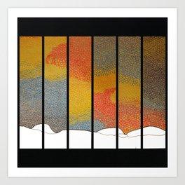 Sunfall Art Print