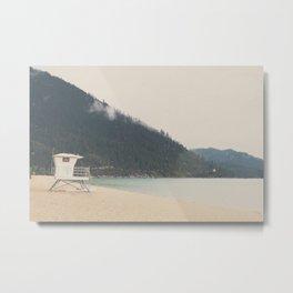 Lake Tahoe Sand Harbor photograph Metal Print