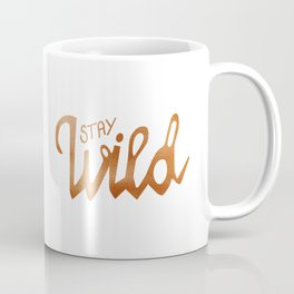 Stay Wild - copper Coffee Mug