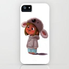 Koala Girl  iPhone Case