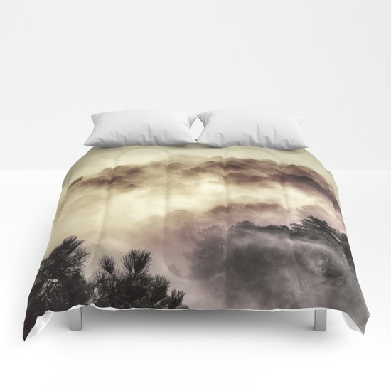 """""""Surprise misty forest"""" Comforters"""