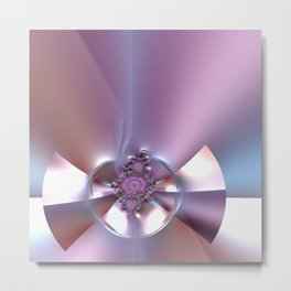 An abstract bow - sealed with kisses Metal Print