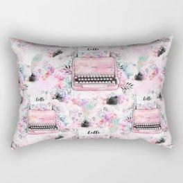 Typewriter #9 Rectangular Pillow