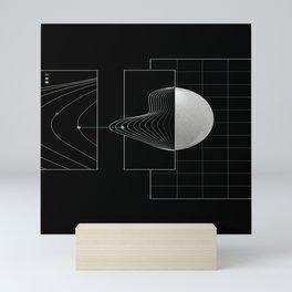 Keep on track Mini Art Print