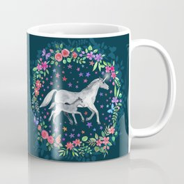 Mama and Baby Unicorn Coffee Mug