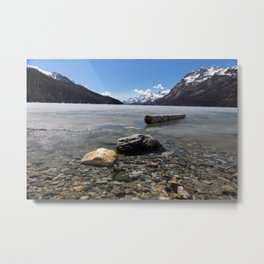 Grisons, Switzerland Metal Print