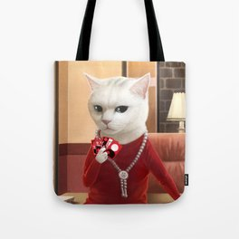 Gambler Cat Tote Bag