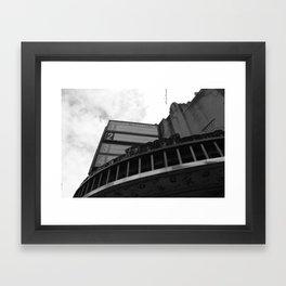 Empty Theater Framed Art Print