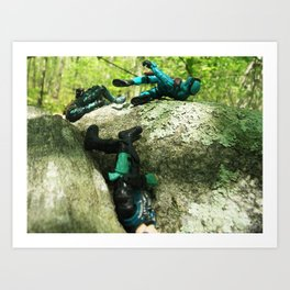 Wipe Out Art Print
