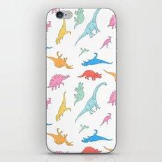 Dino Doodles iPhone & iPod Skin