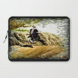 Dirt-bike Racer Laptop Sleeve