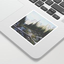 Rocky Mountain Creek Sticker