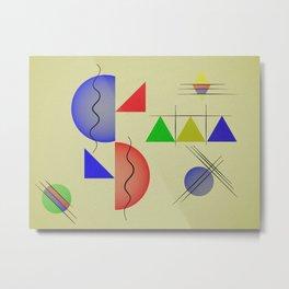 Moderne Metal Print