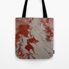Orange Creamsicle Pour Tote Bag