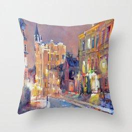 Andrew's Descent Throw Pillow