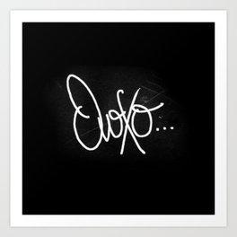 OvOXO Art Print