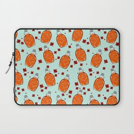 Super Canadian Maple Syrup Pattern Laptop Sleeve