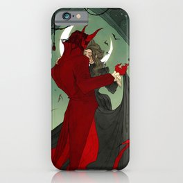 Dance with the Devil iPhone Case
