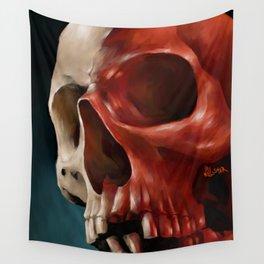 Skull 9 Wall Tapestry