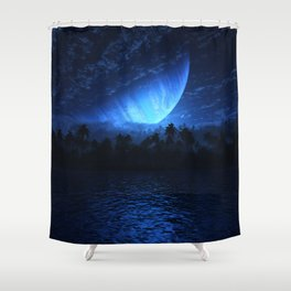 Atoll (Nightfall) Shower Curtain