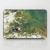 surfer iPad Cases featuring Surfer  by Ed Pulella