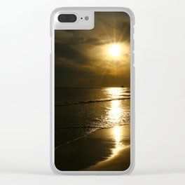 A Beautiful Evening Clear iPhone Case