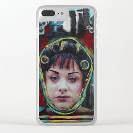Cha-Cha Heels Clear iPhone Case