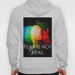 Fear Is Not Real Hoody