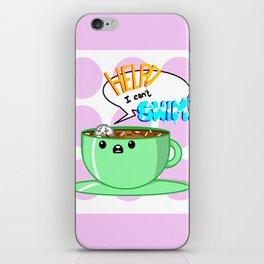 Hot Chocolate Sea iPhone Skin
