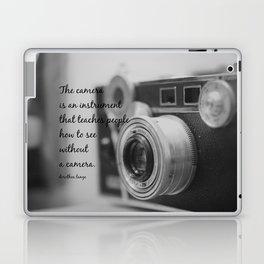 Vintage Camera Quote Laptop & iPad Skin
