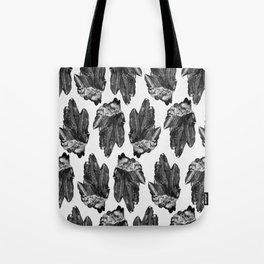 gray skies crystal cluster Tote Bag