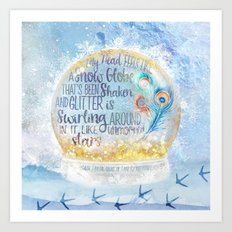 Like a Snow Globe Art Print