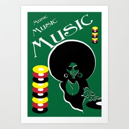 know tune Art Print