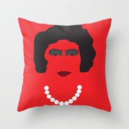 Dr. Frank N Furter Throw Pillow