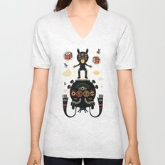 Monstertrap Unisex V-Neck