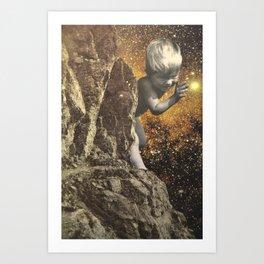 Cosmic Boy Art Print