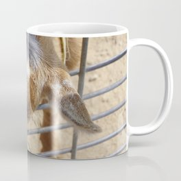 It really gets my goat when all those people stare at me Coffee Mug