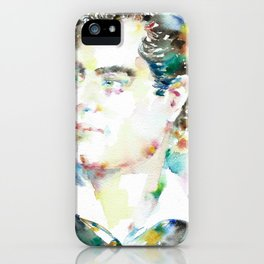 LORD BYRON - watercolor portrait iPhone Case