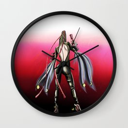 Bayonetta Wall Clock
