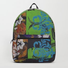Stamp Collage Backpack
