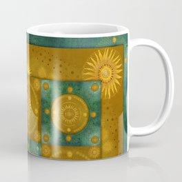 """Moroccan chess Celestial & Ocher Pattern"" Coffee Mug"