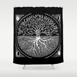 Druid Tree of Life Shower Curtain