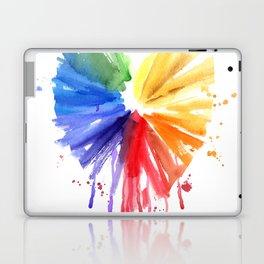 Rainbow heart Laptop & iPad Skin