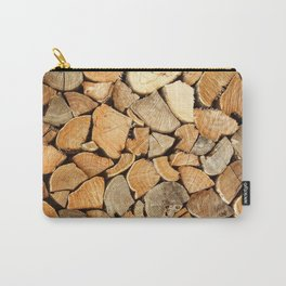 natural wood Carry-All Pouch