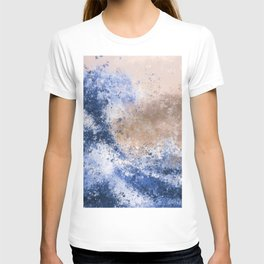The Great Wave Inspired Abstract Painting T-shirt