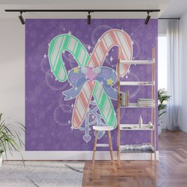 Candy Canes: Fairy Kei Version Wall Mural