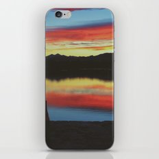 Colorado Skies and Drinks iPhone & iPod Skin
